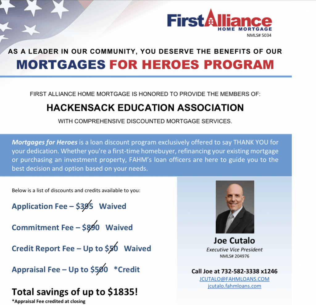 For the WEBPAGE Fwd FAHM's Mortgages For Heroes Program
