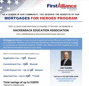 """""""Mortgages For Heroes"""" Program for Our Members"""